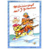 Musizierspass mit 3 Gitarren