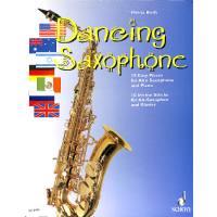 Dancing saxophone