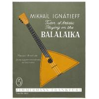 Balalaika playing