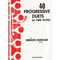 40 PROGRESSIVE DUETS OP 55