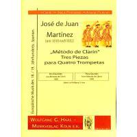 3 QUARTETTE (METODO DE CLARIN 1830)