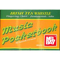 IRISH TIN WHISTLE MUSIC POCKETBOOK