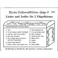 Tiroler Volksmusikblätter 13