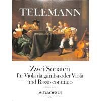 2 Sonaten (essercizii musici)