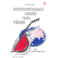 INTERNATIONALE LIEDER + TAENZE