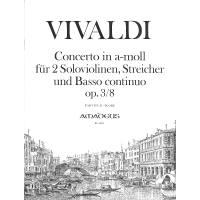 Concerto a-moll op 3/8 (l'estro armonico)