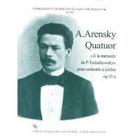 QUATUOR OP 35A A LA MEMOIRE DE P TSCHAIKOWSKY