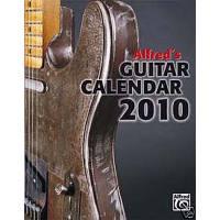 ALFRED'S GUITAR CALENDAR 2010