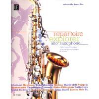 Repertoire explorer alto saxophone