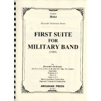 First Suite for Military Band