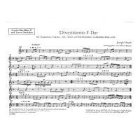 Divertimento F-Dur (Bariton Trio 73)
