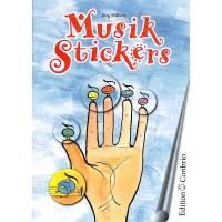 Musik Stickers - fast 100 Aufkleber