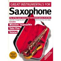 GREAT INSTRUMENTALS FOR SAXOPHONE