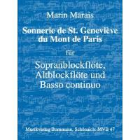 SONNERIE DE ST GENEVIEVE DU MONT DE PARIS