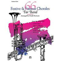 66 festive + famous chorales for band