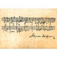 Postkarte | Ode an die Freude (aus Sinfonie 9 op 125)