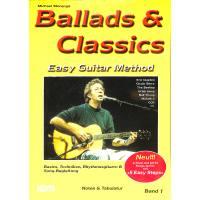 BALLADS & CLASSICS 1 - EASY GUITAR METHOD