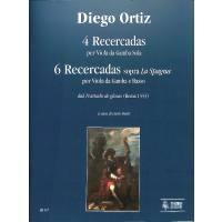 4 Recercadas für Vdg solo + 6 Recercadas sopra la spagna für