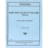 AND THE GLORY OF THE LORD (MESSIAS)