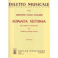 Sonate settima a-moll op 3/7