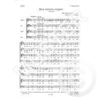 Ave verum corpus KV 618 - Motette