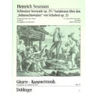 Schweizer Serenade op 29 + Variationen
