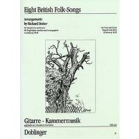 8 British folksongs op 39c - arrangements