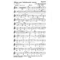 Messe F-Dur (Missa pro hebdomada sancta)