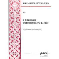 5 englische mittelalterliche Lieder