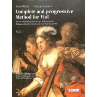 Metodo completo e progressivo per viola da gamba 1