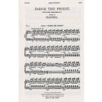 Zadok the priest HWV 258 - coronation anthem 1