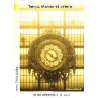 Tango Mambo et cetera