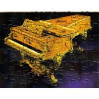 Gran Piano Muzzle - Mini Puzzle Postkarte