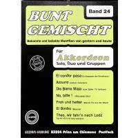 BUNT GEMISCHT 24