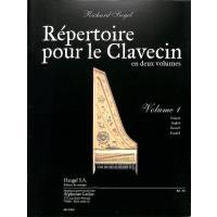 Repertoire pour le clavecin 1