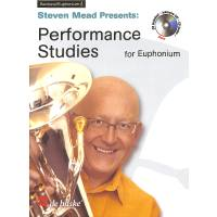 Performance Studies for euphonium
