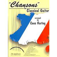 Chansons for classical guitar