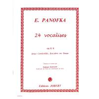 24 Vocalises op 81b - contralto