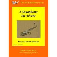 3 Saxophone im Advent
