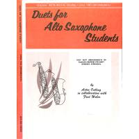 Duets for alto saxophon students 2