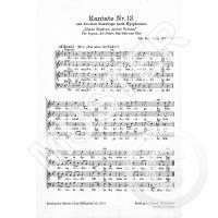 Kantate 13 Meine Seufzer meine Tränen BWV 13