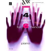 4 PIECES FOR 6 HANDS AT 1 PIANO