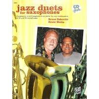 JAZZ DUETS FOR SAXOPHONES