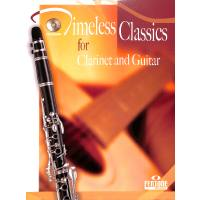 TIMELESS CLASSICS FOR CLARINET + GUITAR