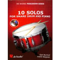 10 solos for snare drum + piano