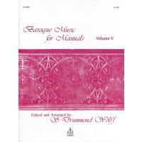 BAROQUE MUSIC FOR MANUALS 5