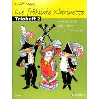 Die fröhliche Klarinette 2 - Trioheft 2
