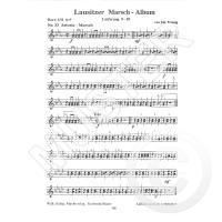 LAUSITZER MARSCHALBUM FUER BLASMUSIK 9-10