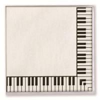Servietten Tastatur 33 x 33 cm