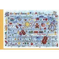 Doppelkarte Kindersinfonie (Mozart Leopold)